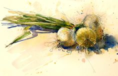 Urban Sketching, Sketchbooks, Painting, Vegetables, Art, May 1, Art Background, Sketch Books, Painting Art