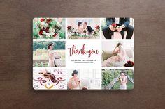5x7 Thank You Card PSD Template  @creativework247