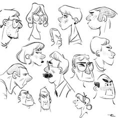 Airplane doodles on ✈️ ✏️ Cartoon Drawings Of People, Cartoon Sketches, Cartoon Faces, Illustration Sketches, Character Illustration, Cartoon Styles, Drawing Sketches, Doodle Sketch, Anime Character Drawing