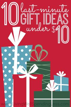 Short on time and crunched for cash but have gifts left to buy?  Don't miss this awesome list of 10 super-thoughtful, original, & frugal gifts ideas for everyone on your list. I especially love #1 & #7!