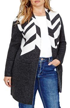 Plus Size Sweater Coat - Plus Size Fashion for Women #plussize