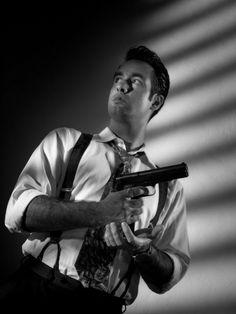 Down the Barrel of a Gun - Film Noir - Forgotten Futures Film Noir Photography, Photography Poses, Film Inspiration, Character Inspiration, Detective, Art Noir, Photo Reference, Human Reference, Reference Images