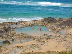 I have been here...champagne pools, Frasier Island, Australia