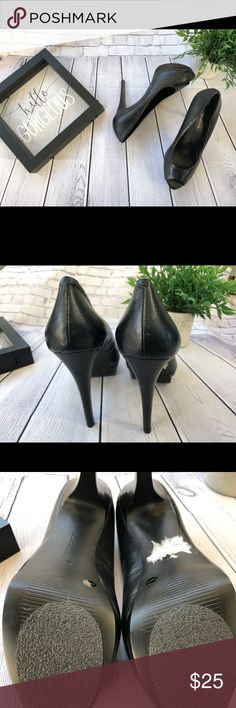 BCBG Peep Toe Pumps Show up in style with these sleek peep toe BCBG pumps. Size 7.5 BCBGeneration Shoes Heels