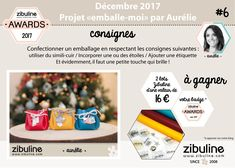"Challenge DIY ""Emballez-moi"" par Aurélie Vandy - Zibuline Awards"