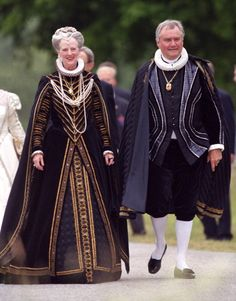 Queen Margrethe II and Henrik, Prince Consort of Denmark.