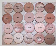 Cosmetic Fashion: MAC Eye Shadow Swatch Source by margestar Eyeshadow Kiss Makeup, Love Makeup, Candy Makeup, Makeup Tips, Makeup Ideas, Prom Makeup, Gorgeous Makeup, Makeup 2018, Makeup Salon