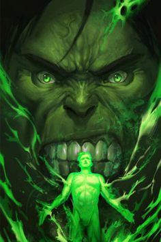 awesomecomics:  I love the whole Dr.Jekyll/ Mr.Hyde thing the HUlk has going for him…