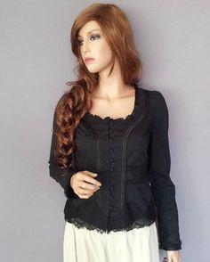 Didi romantisk svart spets jacka storlek S  http://ift.tt/1Tcomzu  #tradera #traderafynd #didi #damkläder #fynda #loppis #märkesbloppis #loppisfynd #bloppis #säljes #kläder