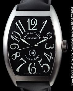 Franck Mueller 10th Anniversary Casablanca Tonneau Automatic
