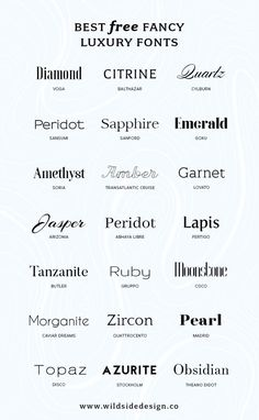 Best Free Luxury Fonts - Fonts - Ideas of Fonts - What if you want to make YOUR brand look high end? Here are some free luxury fonts in a variety of styles serif sans-serif and some high-end scripts. Web Design, Free Font Design, Graphic Design Fonts, Poster Design, Graphic Design Inspiration, Font Free, Free Fonts Sans Serif, Font Logo Design, Luxury Graphic Design