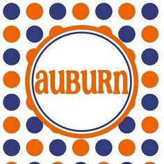 Auburn Printables