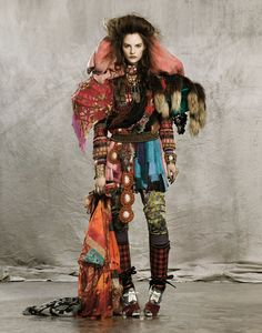 although probably not very ready to wear, one can say it is very colorful  #wewantsale #color #fashion