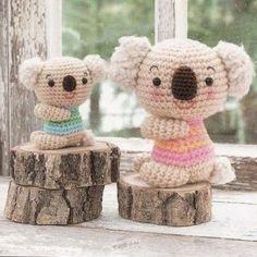 Patron Amigurumi De Koala : 1000+ images about Crochet Amigurumi on Pinterest ...