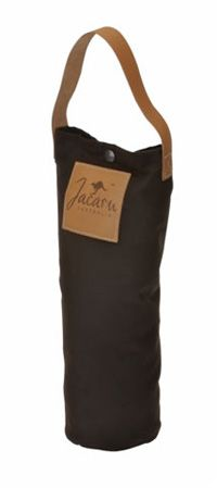 5001 Oiled Cotton Wine Cooler by Jacaru. Leather Branding Patch with your Logo.
