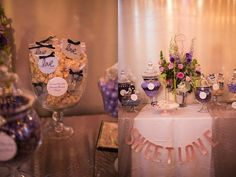 dessert table nashville wedding at ruby #Wedding Pros Come Together To Inspire At The Big Fake Wedding At Ruby #Nashville