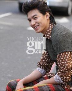 Lee Min Ho Vogue Girl Shoot 09'