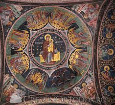 Manastirea Hurezi - Horezu Early Christian, Christian Art, Church Interior, Byzantine Icons, Orthodox Christianity, Blessed Virgin Mary, Orthodox Icons, Sacred Art, Illuminated Manuscript