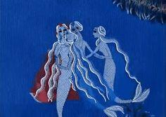 """ The Little Mermaid amazing Russian animation "" Tarot, Water Nymphs, Fantasy Mermaids, Cinemagraph, Medieval Art, The Little Mermaid, Illustration, Fairy Tales, Folk"