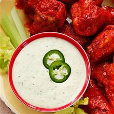 Jalapeno Ranch Dip Recipe from Taste of Home