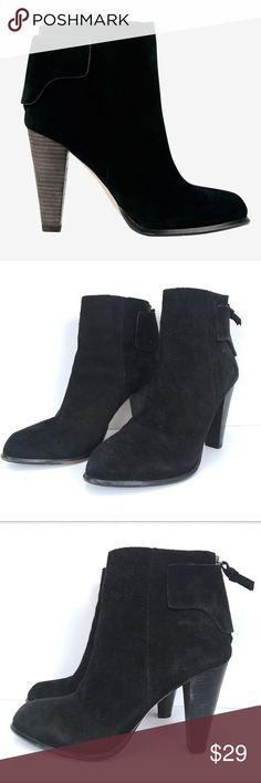 French Connection Suede Ankle Boots 41 11 Black French Connection ankle boots. Overall very good condition. Bottoms show normal wear. Sz 41. French Connection Shoes Ankle Boots & Booties