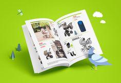 © BRANDEXPERT Freedom Island. Illustration and brand identity for kids store.