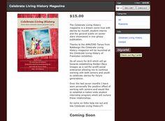 Celebrate Living History mag by astrostar123, via Flickr