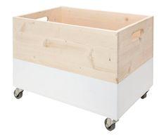Handgefertigte Holztruhe Sören