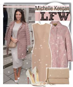 """Michelle Keegan - London Fashion Week"" by anne-mclayne ❤ liked on Polyvore"