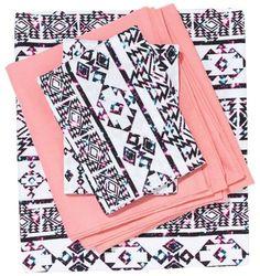 Victoria's Secret PINK Sheet Set & Duvet Cover. Twin & Twin-XL. Perfect Dorm Bedding