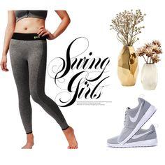 WELOVE Women's Solid Color Sports Leggings Full Length Tights Workout Pants Active Yoga Running Leggings Natural Waist Seamless Leggings