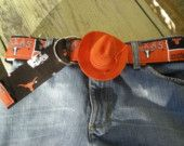 University of TeXaS Flower Power Belt