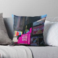 selena gomez pillow Jordin Sparks, Aleta, Designer Throw Pillows, Iphone Wallet, Pillow Design, Selena Gomez, Floor Pillows, New York City, Duvet Covers