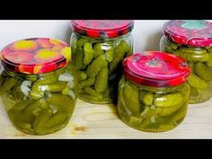 Collars, Preserves, Pickles, Cucumber, Mason Jars, The Creator, Food And Drink, Tasty, Canning