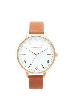 **Olivia Burton Large White Watch