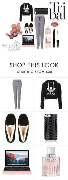 """Melissas's Lazy Saturday"" by rxbx4 on Polyvore featuring rag & bone, Topshop, UGG Australia, Savannah Hayes, Jimmy Choo, Lancôme and Lime Crime"