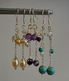 Erilaisia käsintehtyjä koruja myynnissä nyt myös Kamanan verkkokaupassa! Drop Earrings, Jewelry, Jewellery Making, Jewelery, Drop Earring, Jewlery, Jewels, Jewerly, Dangle Earrings