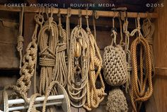 Ropes, photo by Forrest Anderson. This and other photos by Forrest Anderson are available at rouviere.com.