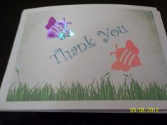 Thank You Note Cards by ang744 on Etsy, $3.00