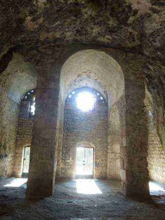 "Grotto known as the Church of St. Peter in Antioch-on-the-Orontes (Antakya, Hatay). Peter was the first to establish a church in Antioch where followers of Jesus were first called ""Christians"". Antioch served as the home base for Peter, Paul and Barnabas; shortly it became the third most important bishopric - after Jerusalem and Rome - in the developing church. Mass is celebrated here yearly on the feast of SS Peter and Paul, June 29."