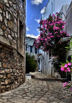Narrow street in Marmaris, Turkey I love Turkey.one of my most favorite countries to visit Beautiful Streets, Beautiful World, Places To See, Places To Travel, Places Around The World, Around The Worlds, Wonderful Places, Beautiful Places, Istanbul