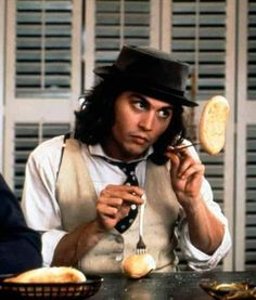 playing with your food.-Benny and Joon