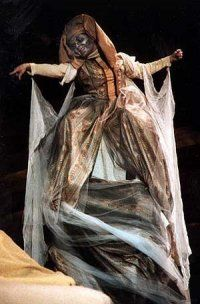 Laura Cook As Fruma Sarah In Fiddler On The Roof Hahaha