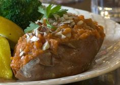 Remember twice-baked potatoes—yummy but oh, so fattening? Here's a richer and sweeter version that's much more heart friendly. Sweet potatoes are a rich source of antioxidants; pears are high in fiber. Next time you're tempted to serve baked potatoes, think sweet.    Part of the Swedish Healthy Recipes collection (heart healthy, recipe, dinner).