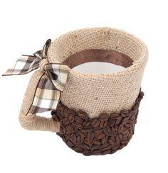 Декоративная кружка с запахом кофе. | Эфария