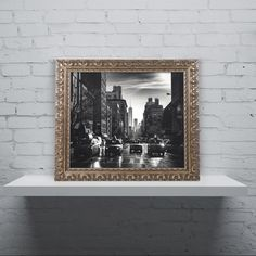 Philippe Hugonnard 'Gotham Taxi Nyc' Ornate Framed Art