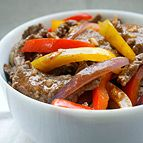 Sichuan Beef and Peppers Weight Watchers recipe. There are also two other weight watchers stir fry recipes on this link.