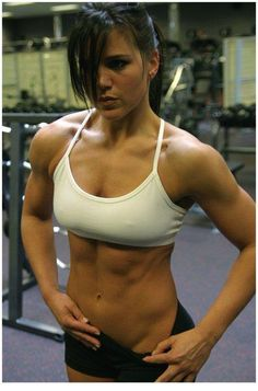 """""""The Benefits of Female Weight Training""""  -  Great article!  But I think the pic speaks for itself... What more benefits do you want?!"""