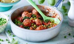 Joe's big beefy meatballs / The Body Coach Blog / The Body Coach