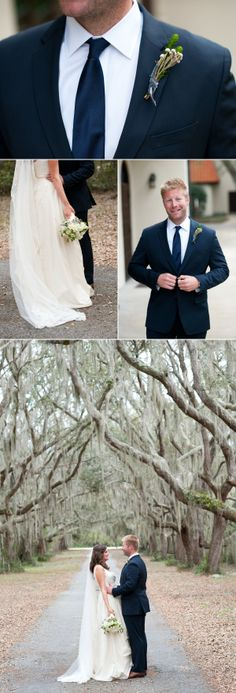 #StSimons Island wedding from stylemepretty.com